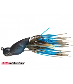 LIVETARGET HOLLOW BODY CRAW 1/2OZ MUD BLUE