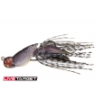 LIVETARGET HOLLOW BODY CRAW 1/2OZ GREY BROWN