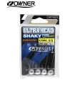 OWNER ULTRAHEAD SHAKY TYPE 4/0 PCS 4