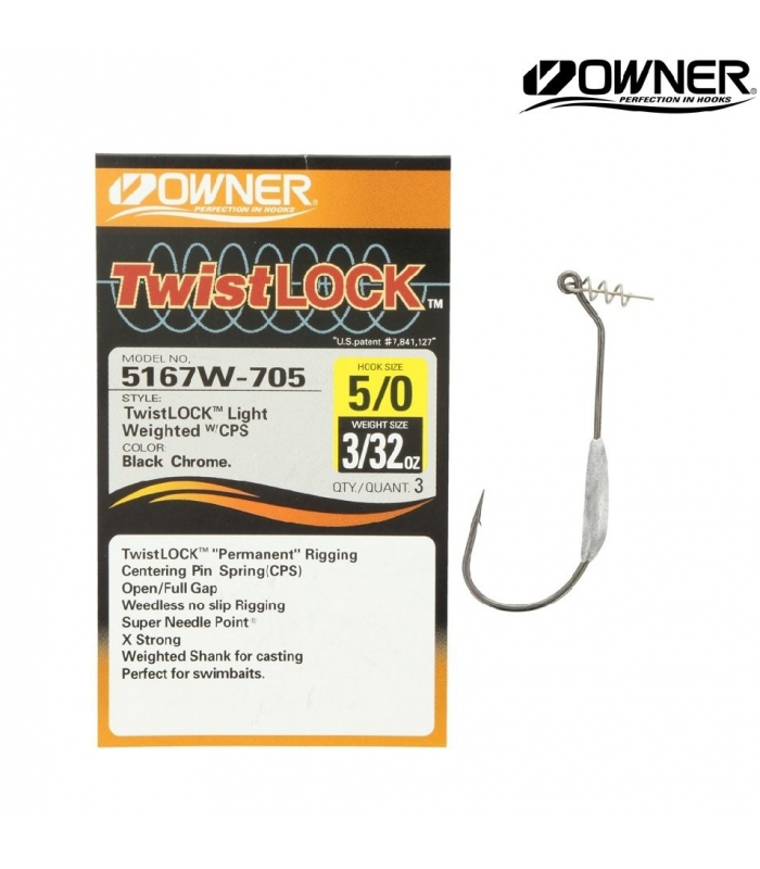 OWNER TWISTLOCK 5/0 PCS 3