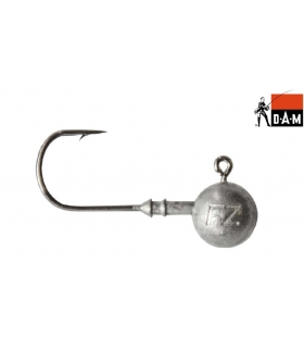 DAM EFFZETT BALL JIGHEAD SIZE 3/0 WEIGHT 10G PCS 5