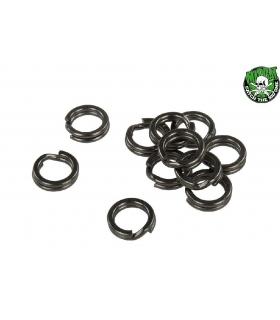 MADCAT SPLIT RINGS 10MM / 100LB - 16 PIECES