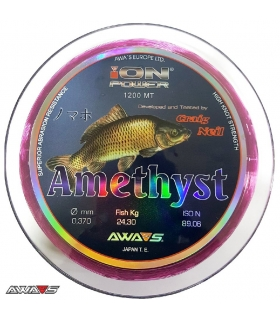 AWA-SHIMA ION POWER AMETHYST PURPLE 0.37MM 24.30KG 1200M