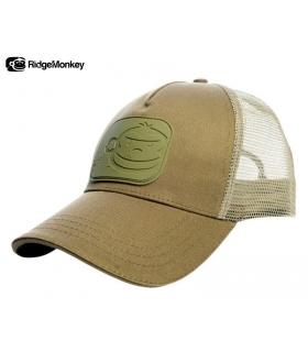 RIDGEMONKEY DROPBACK PASTEL TRUCKER CAP GREEN