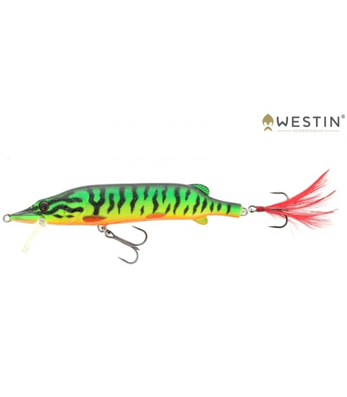 WESTIN MIKE THE PIKE 140MM 30G CRAZY FIRETIGER