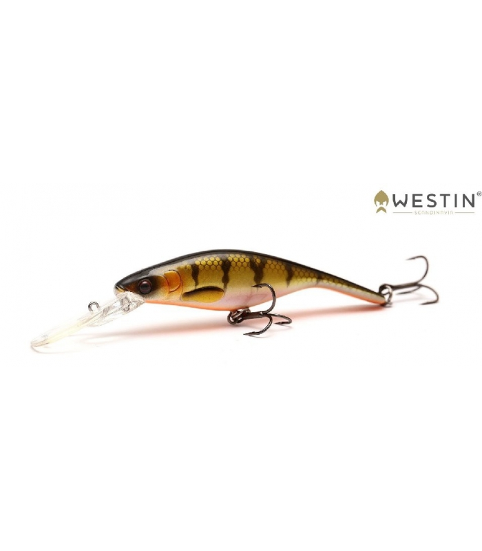 WESTIN PLATYPUS DR 100MM 16G BLING PERCH