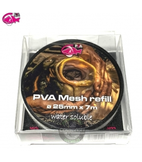PVA HYDROSPOL MESH REFILL 25MM 7M WATER SOLUBLE