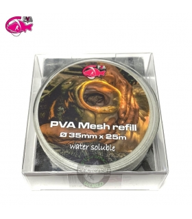 PVA HYDROSPOL MESH REFILL 35MM 25M WATER SOLUBLE