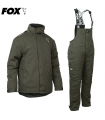 FOX COLLECTION GREEN / SILVER WINTER SUIT TALLA XL
