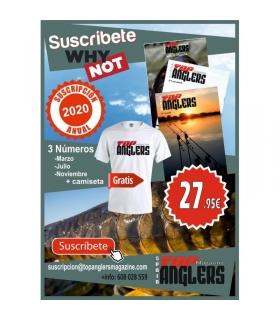 TOP ANGLERS MAGACINE SUSCRIPCION 2020