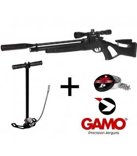 GAMO COYOTE BLACK WHISPER PCP CAL. 4,5