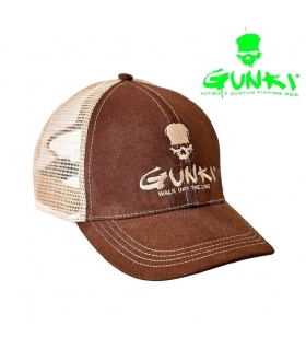 GUNKI GORRA TRUCKER MARRON