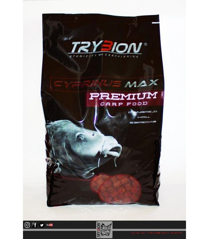 TRYBION PELLETS 4KG CYPRINUS MAX 15MM