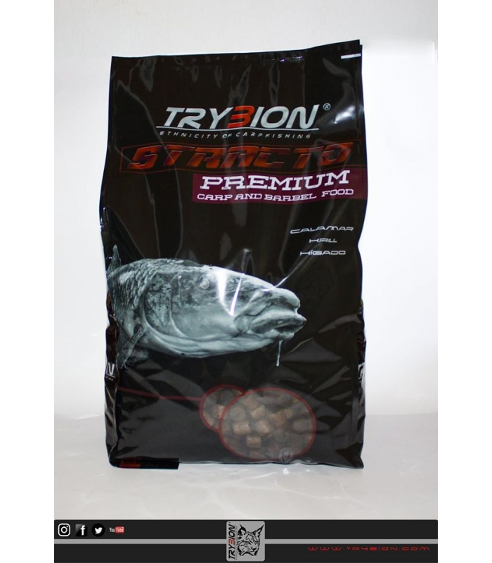 TRYBION PELLETS 4KG STRACTO 15MM