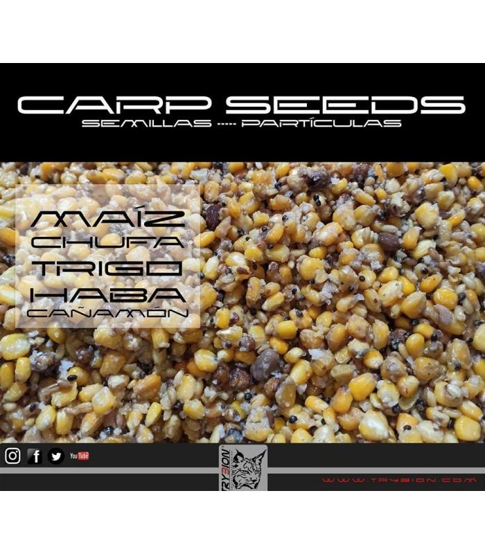 TRYBION CARP SEEDS MAIZ/CHUFA/HABA/CAÑAMON 1KG