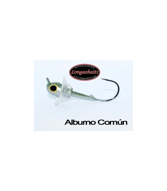LONGASBAITS FUNNEL JIG HEAD 3/8OZ ALBURNO COMUN 2 UDS