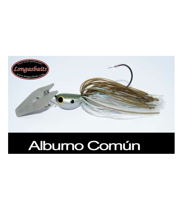 LONGASBAITS GLADIATOR BLADED 1/2OZ ALBURNO COMUN