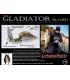 LONGASBAITS GLADIATOR BLADED 1/2OZ WHITE CHART