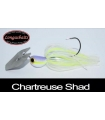 LONGASBAITS GLADIATOR BLADED 3/8OZ CHART SHAD