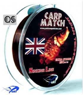 YUKI CARP MATCH 0.18MM 150MTS