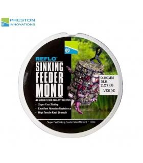 PRESTON REFLO SINKING FEEDER MONO 0.20MM 150M
