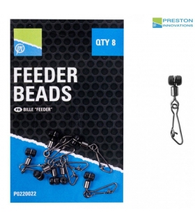 PRESTON INNOVATIONS FEEDER BEADS QTY 8