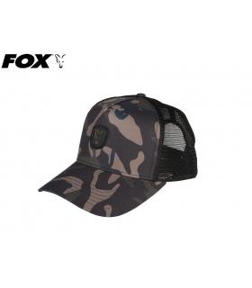 FOX TRUCKER CAP CAMO/BLACK ONE SIZE FITS ALL