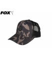 FOX TRUCKER CAP CAMO/BLACK ONE SIZE FITS ALL