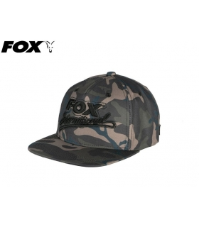 FOX COLLEGE FLAT PEAKED SNAPBACK CAMO ONE SIZE FITS ALL