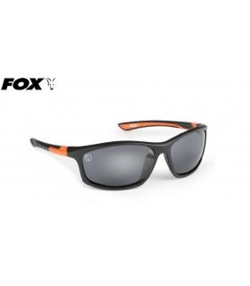 FOX GAFA COLLECTION BLACK & ORANGE FRAME/GREY LENSES