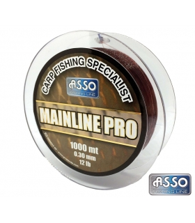 ASSO MAINLINE PRO BROWN 0.40MM 1000MTS