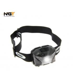 NGT XPR CREE HEADLAMP - USB RECARGABLE 140 LUMENES