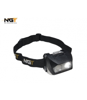 NGT DYNAMIC CREE LIGHT LUZ CABEZA - USB RECARGABLE 200 LUMENES