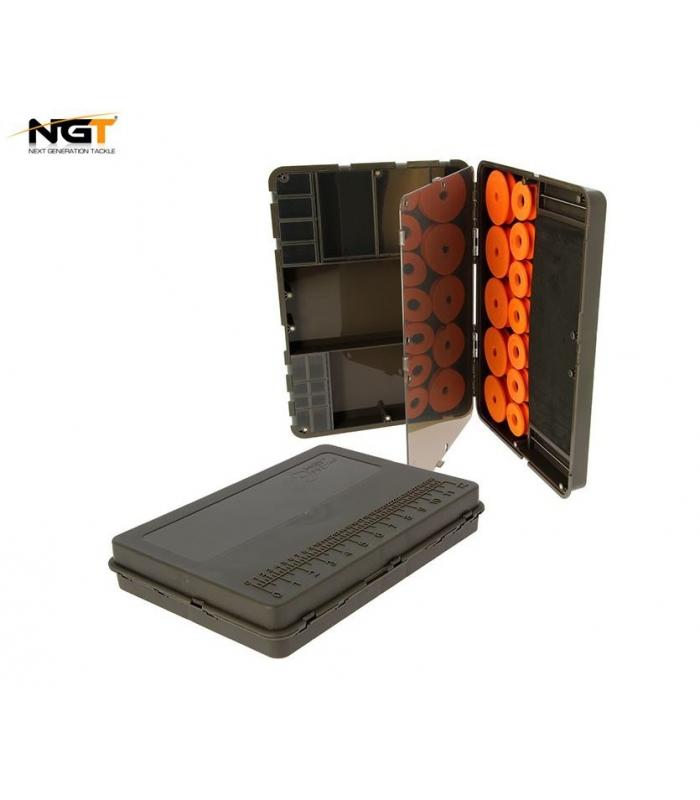 NGT DYNAMIC TACKLE BOX - CIERRES MAGNETICOS