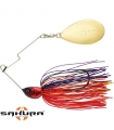 SAKURA CAJUN SPINNERBAIT 1/4OZ 7GR JUNE CRAW SIMPLE COLORADO