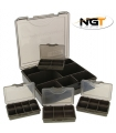 NGT CAJA TACKLE BOX SYSTEM 4+1 VERDE OLIVA