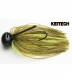 KEITECH RUBBER JIG MODEL II VER. 2.0 3/8 GREEN PUM