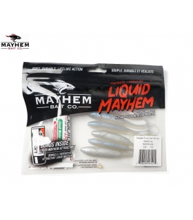 LIQUID MAYHEM THRUST SWIM MINNOW ALEWIFE LAM 3.50'' 7PK