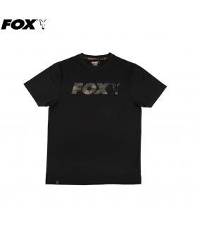 FOX T-SHIRT BLACK / CAMO PRINT TALLA XL