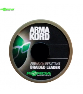KORDA ARMAKORD SUB BROWN BRAIDED LEADER 20M 22KG