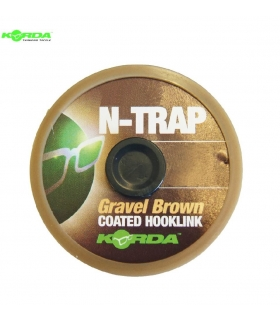 KORDA SOFT N-TRAP GRAVEL BROWN 20M 13.6KG