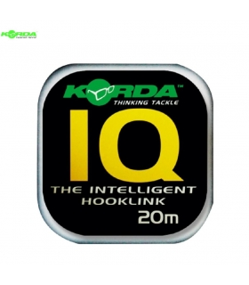 KORDA IQ THE INTELLIGENT HOOKLINK 25LB 20M