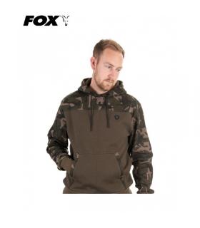 FOX KHAKI / CAMO HOODY TALLA S