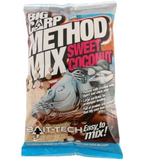 BAIT-TECH BIG CARP METHOD MIX SWEET COCONUT 2KG