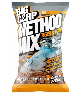 BAIT-TECH BIG CARP METHOD MIX TIGER & PENAUT 2KG