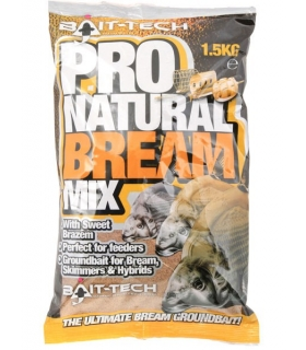 BAIT-TECH PRO NATURAL BREAM MIX 1.5KG
