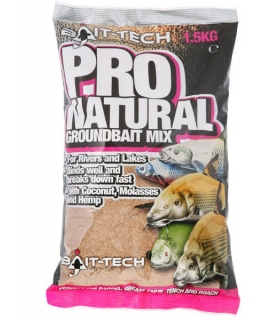 BAIT-TECH PRO NATURAL GROUNDBAIT MIX 1.5KG