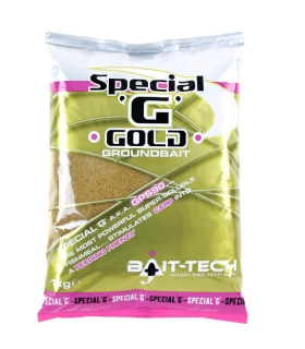 BAIT-TECH SPECIAL G GOLD GROUNDBAIT 1KG