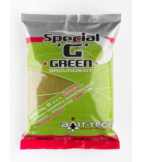 BAIT-TECH SPECIAL G GREEN GROUNDBAIT 1KG