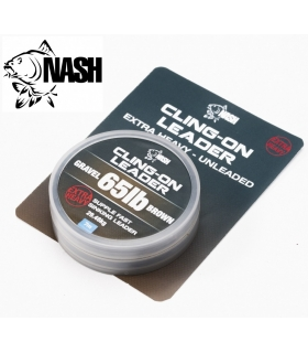 NASH CLING-ON LEADER GRAVEL 65LB BROWN EXTRAHEAVY